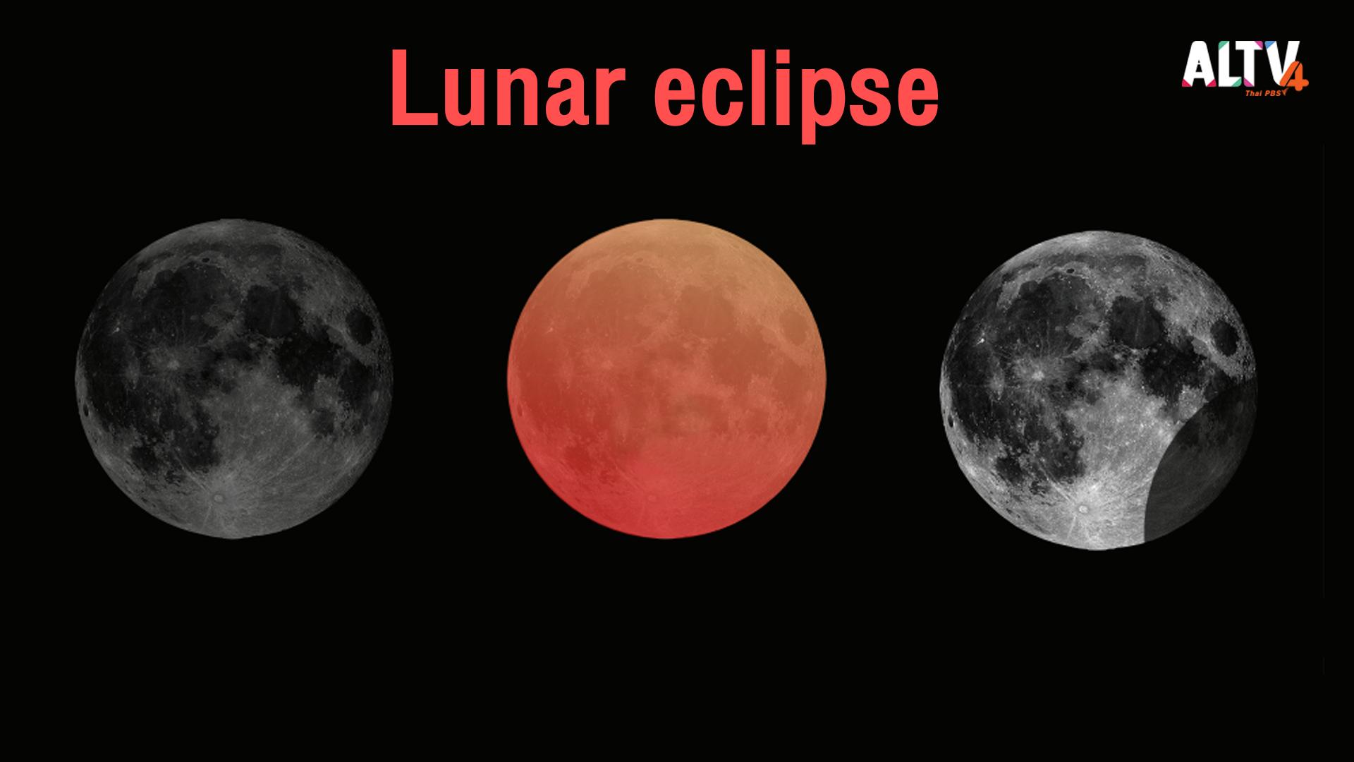 ปรากฏการณ์จันทรุปราคา (Lunar Eclipse)