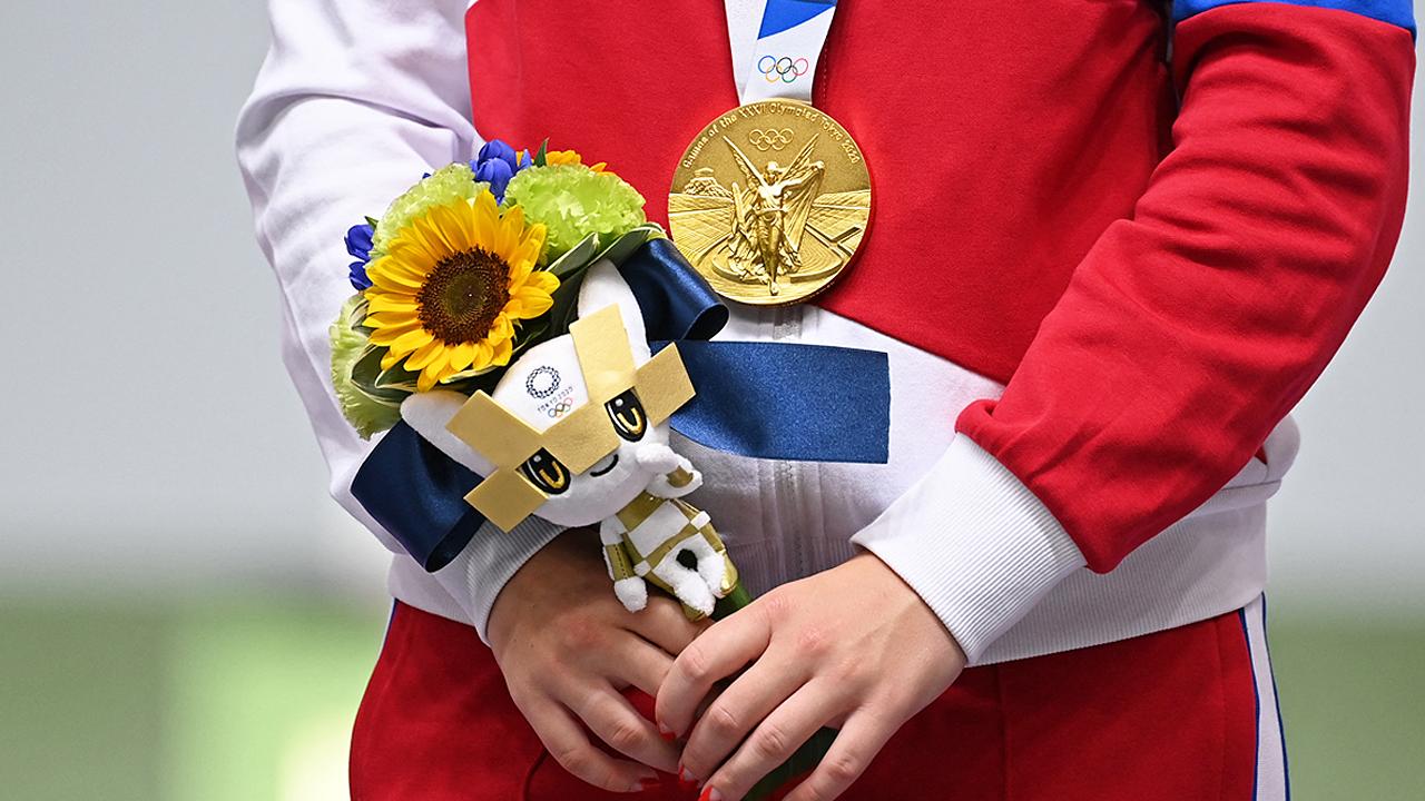 ช่อดอกไม้แห่งชัยชนะ ของขวัญจากผู้ประสบภัย ส่งใจให้ Tokyo 2020